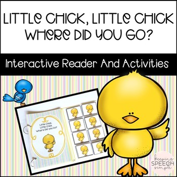 Little Chick: An Interactive Reader & Language Activities for Spring