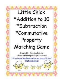 Little Chick Math Station Bundle