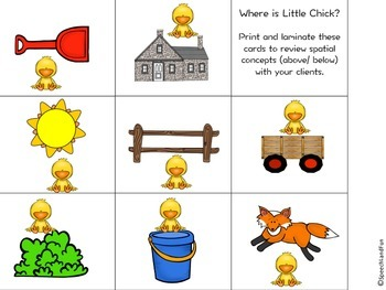 Little Chick Spatial Concepts