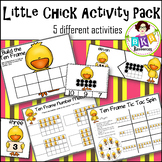 Little Chick Ten Frame Activity Pack ● Puzzles ● Numbers 1-20 ● Games ● Counting