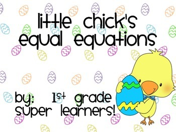Little Chick's Equal Equations