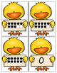 Little Chicks Ten Frame, Numbers, Tally Marks, & Number Word Matching Game