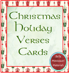 Little Christmas Cards for Reading and Writing