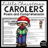 Little Christmas Carolers Poem, Reading Comprehension Worksheet, Test Prep