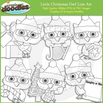 Little Christmas Owl