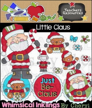 Little Claus Clipart Collection