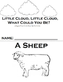 """Little Cloud By Eric Carle Adapted Book, """"WH"""" questions and sequencing"""