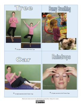 """""""Little Cloud"""" Inspired Kids Yoga Unit with Printable Yoga Cards"""