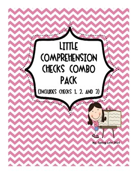 Little Comprehension Checks Combo Pack