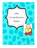 Little Comprehension Checks