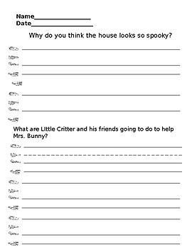Little Critter: Just Critters Who Care: Book Companion!