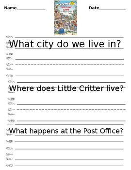 Little Critter: This Is My Town!