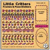 Little Critters - Page Dividers, Oval & Rectangle Frames, Color & Line Art