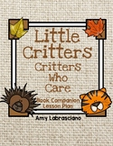 Little Critters Who Care Book Companion and Lesson Plans