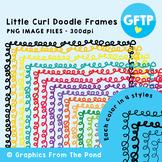Doodle Frames - Little Curl