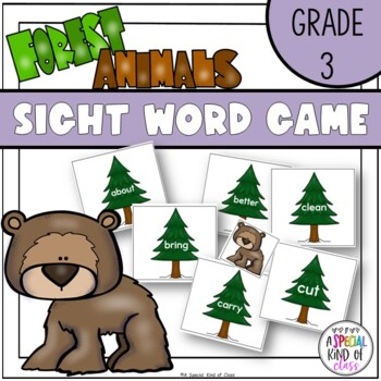 Little Deer Sight Word Game Grade Three Dolch List