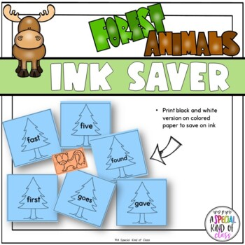 Little Deer Sight Word Game Grade Two Dolch List