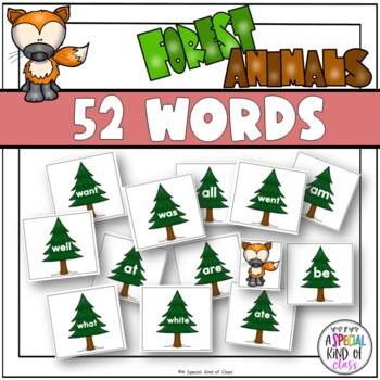 Little Deer Sight Word Game Primer Dolch List