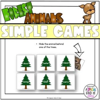 Little Deer Sight Word Games - BUNDLED