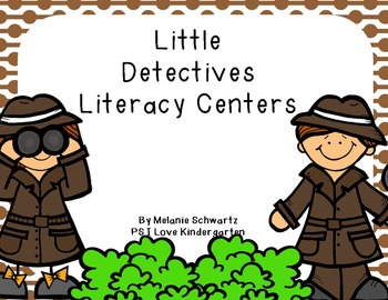 Little Detectives Literacy Centers