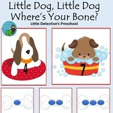 Number Matching and Counting with Doggy Where's Your Bone Rhyme