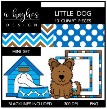 Little Dog Mini Clipart Bundle {A Hughes Design}