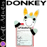 Little Donkey Christmas Craft