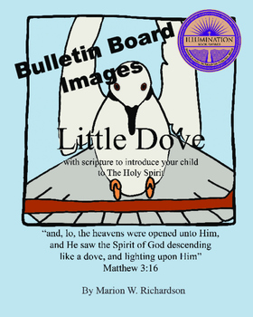 FREE: Little Dove Christian Children's Book Bulletin Board Images