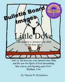 FREE: Little Dove Christian Children's Book Bulletin Board Images