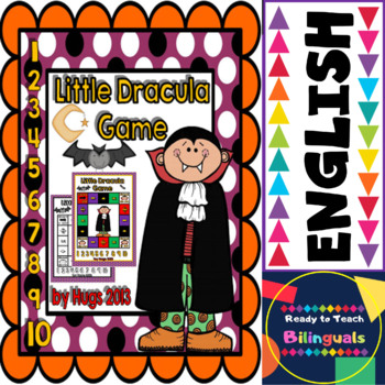 Little FREE Dracula Game (Halloween Maths and ELA)