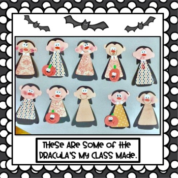 Little Dracula:  Halloween Craft