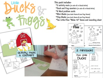 Composing & Decomposing Numbers with Five Little Ducks & Frogs