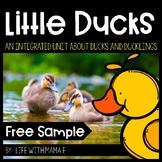 Little Ducks Printables for Preschool {FREE}