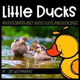 Little Ducks Unit for Preschool