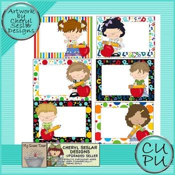 Little Elementary Kids Cards