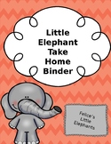 Little Elephant's Binder Cover