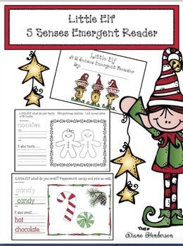 Little Elf Emergent Reader Packet