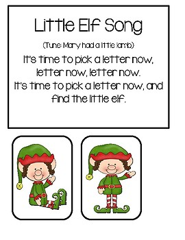 Little Elf Letter Game #2 (Hide And Seek)