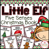 Little Elf Five Senses Christmas Book