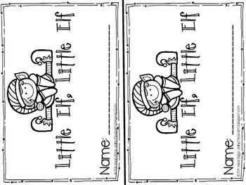 Little Elf, Little Elf emergent reader- predictable text
