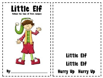 Little Elf Mini Book