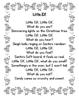 the little elf poem