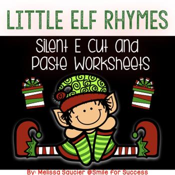 Little Elf Rhymes { Silent E Worksheets}