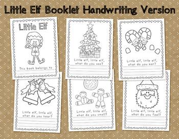 Little Elf Senses Writing Booklet