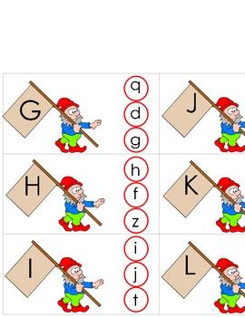 Little Elf's Alphabet Match Learning Center