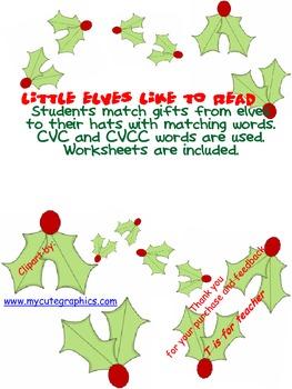 Little Elves Like to Read