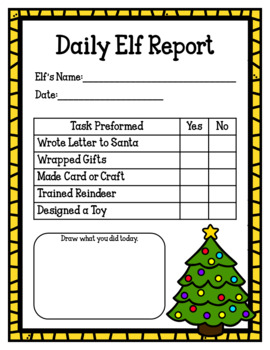 Little Elves Workshop (Christmas Elf Dramatic Play)