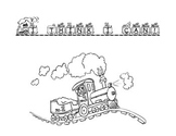 Little Engine that Could Coloring Page