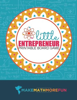 Little Entrepreneur Game to Practice Multiplication or Addition
