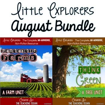 Little Explorers Non-Fiction August Bundle